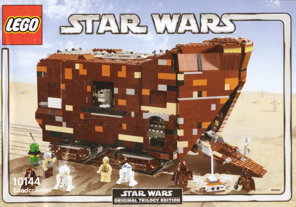 LEGO Star Wars Sandcrawler 10144 Box