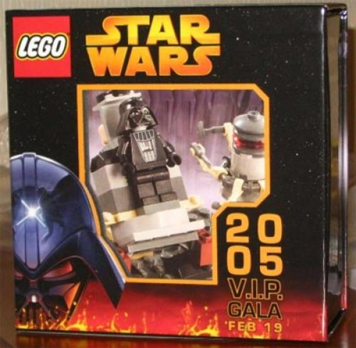 LEGO Star Wars V.I.P. Gala Set tf05 Box