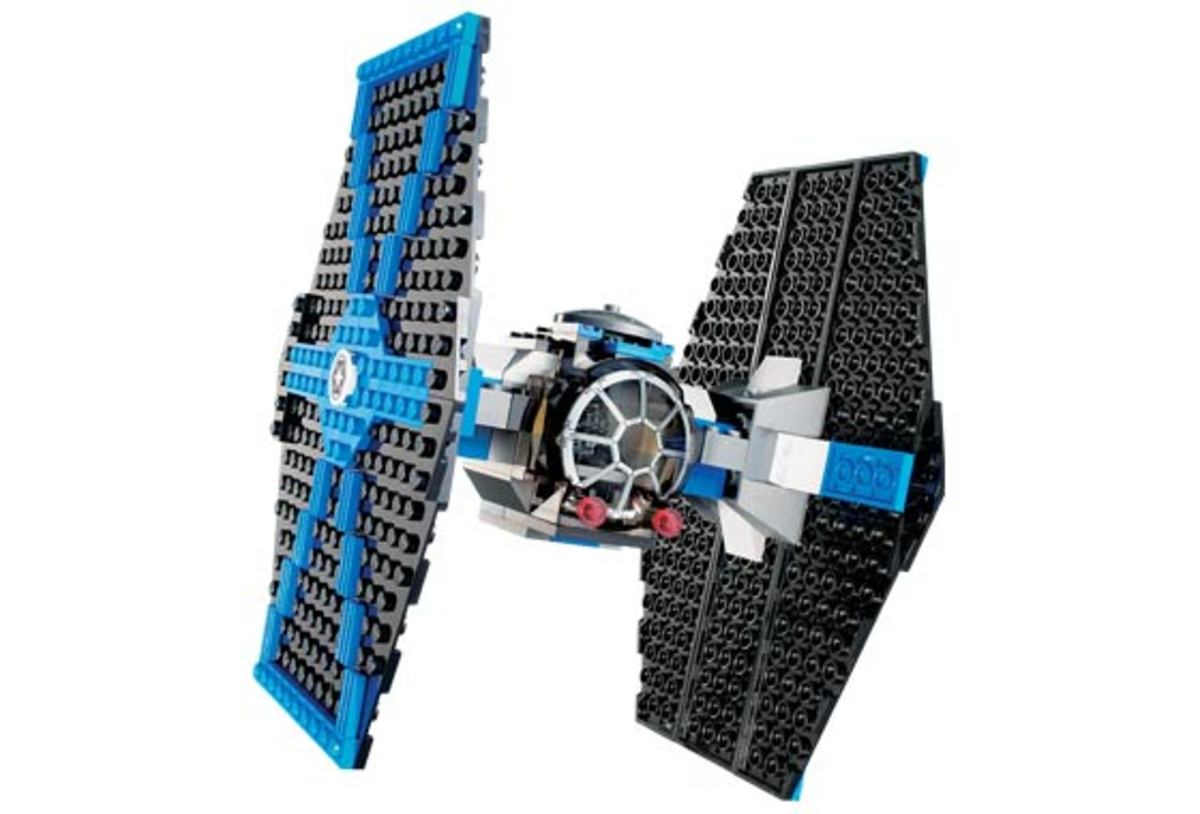 LEGO Star Wars TIE Fighter 7263 Assembled