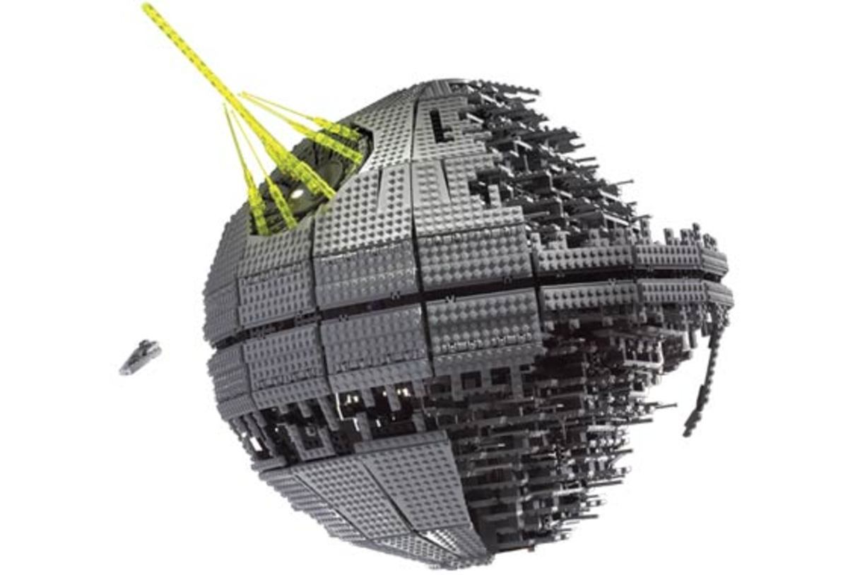 LEGO Star Wars Death Star II 10143 Assembled