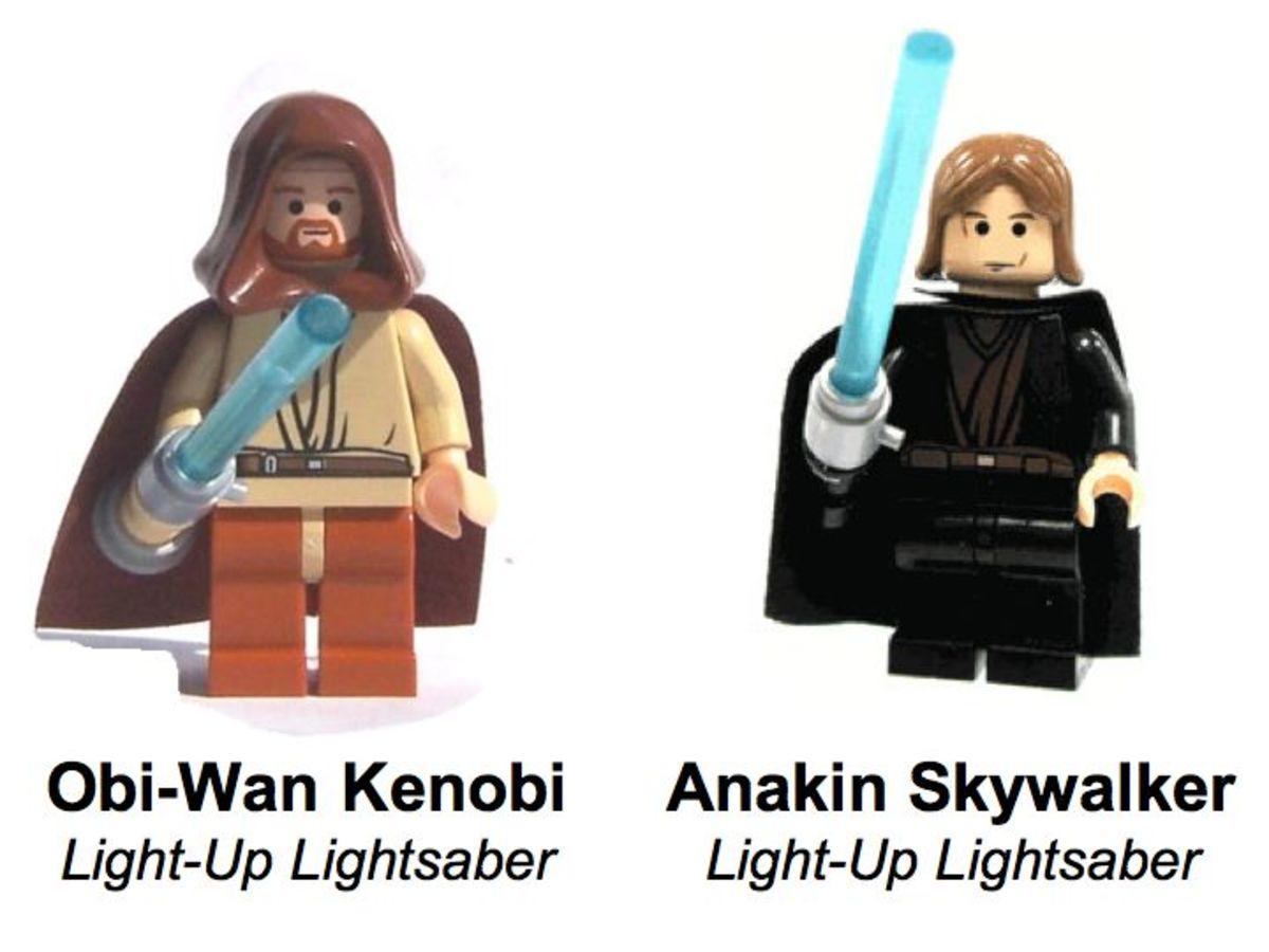 LEGO Star Wars Ultimate Lightsaber Duel 7257 Minifigures