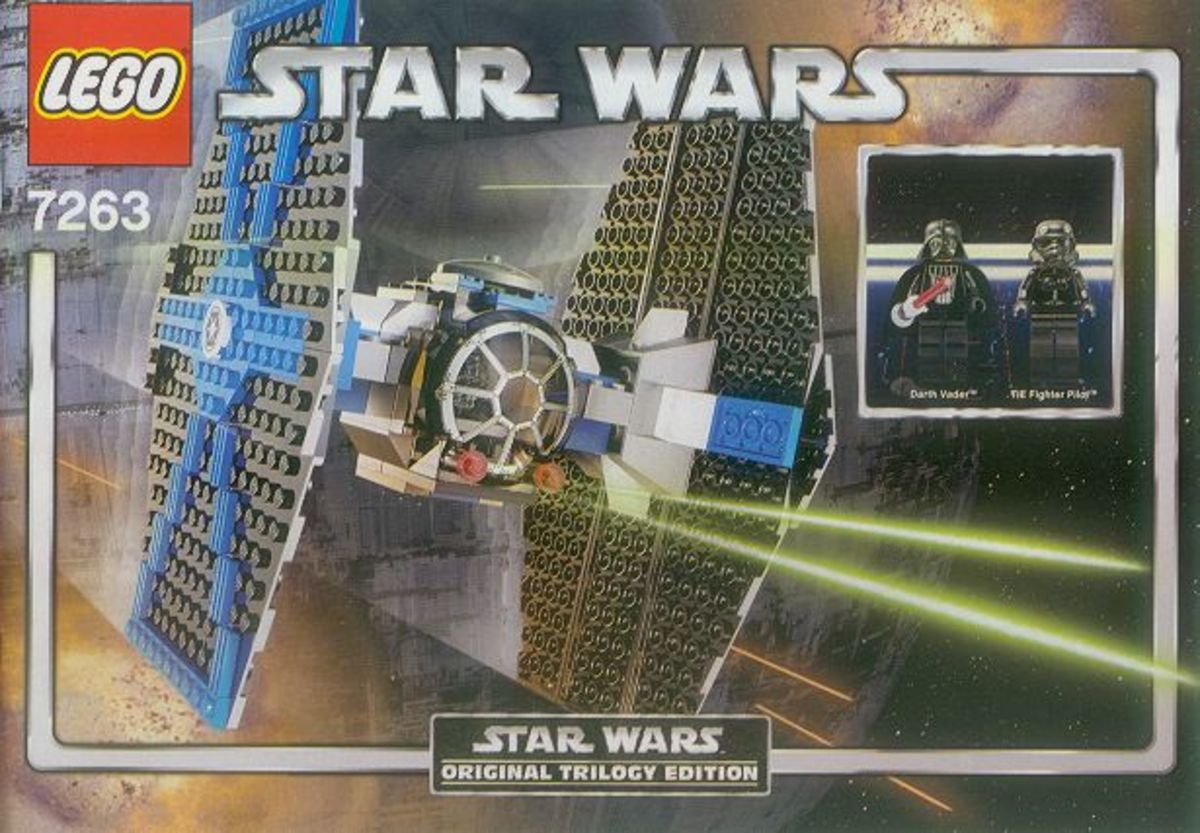 LEGO Star Wars TIE Fighter 7263 Box