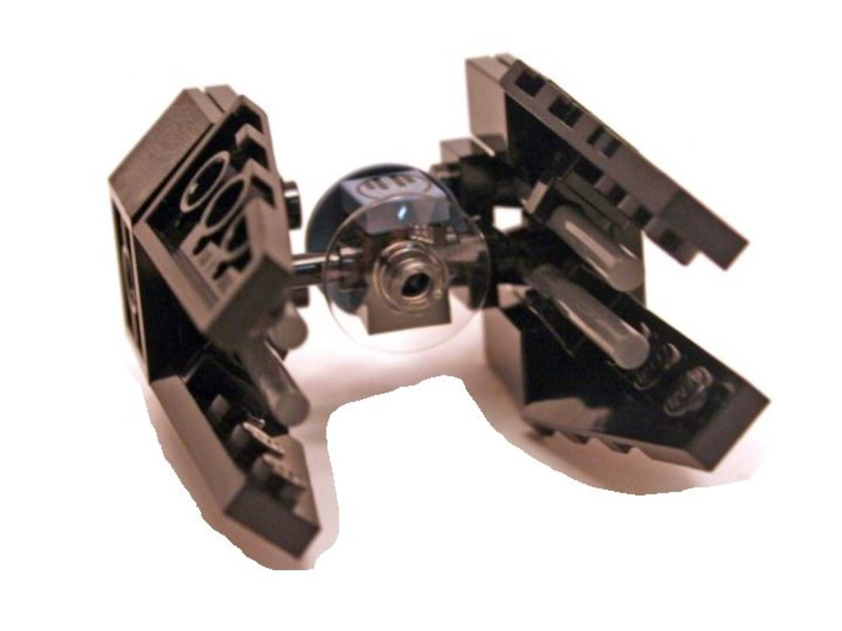 LEGO Star Wars TIE Interceptor 6965 Assembled