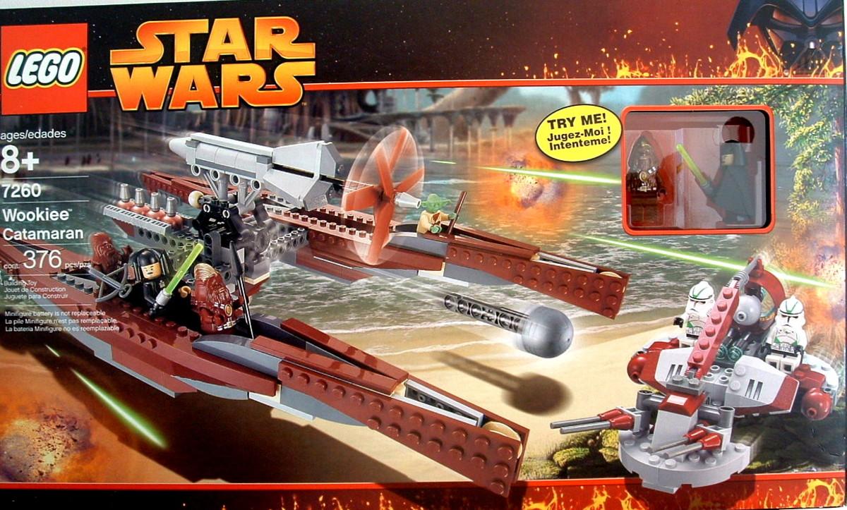 LEGO Star Wars Wookiee Catamaran 7260 Box