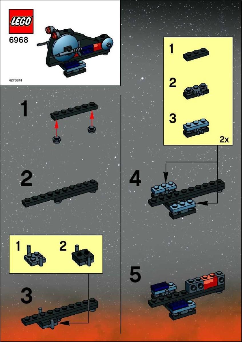 LEGO Star Wars Wookiee Attack Mini Instructions