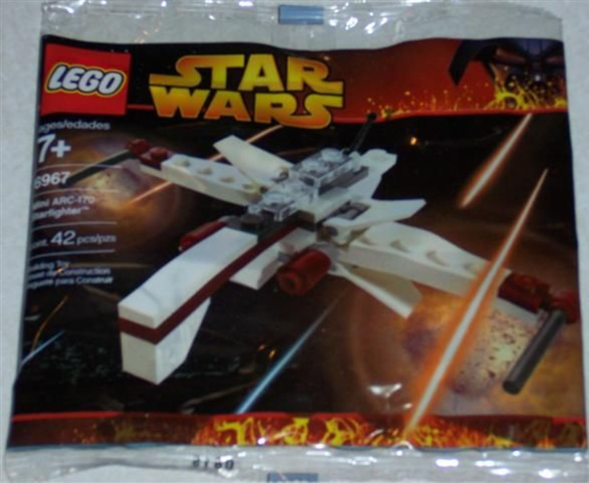 LEGO Star Wars Arc Fighter 6967 Bag