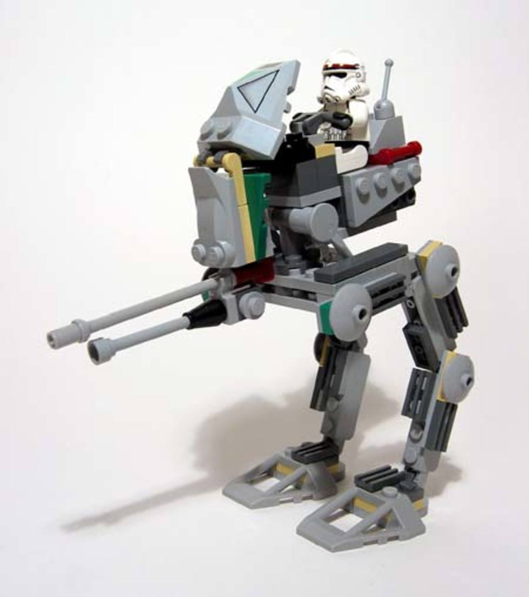 LEGO Star Wars Clone Scout Walker 7250 Assembled