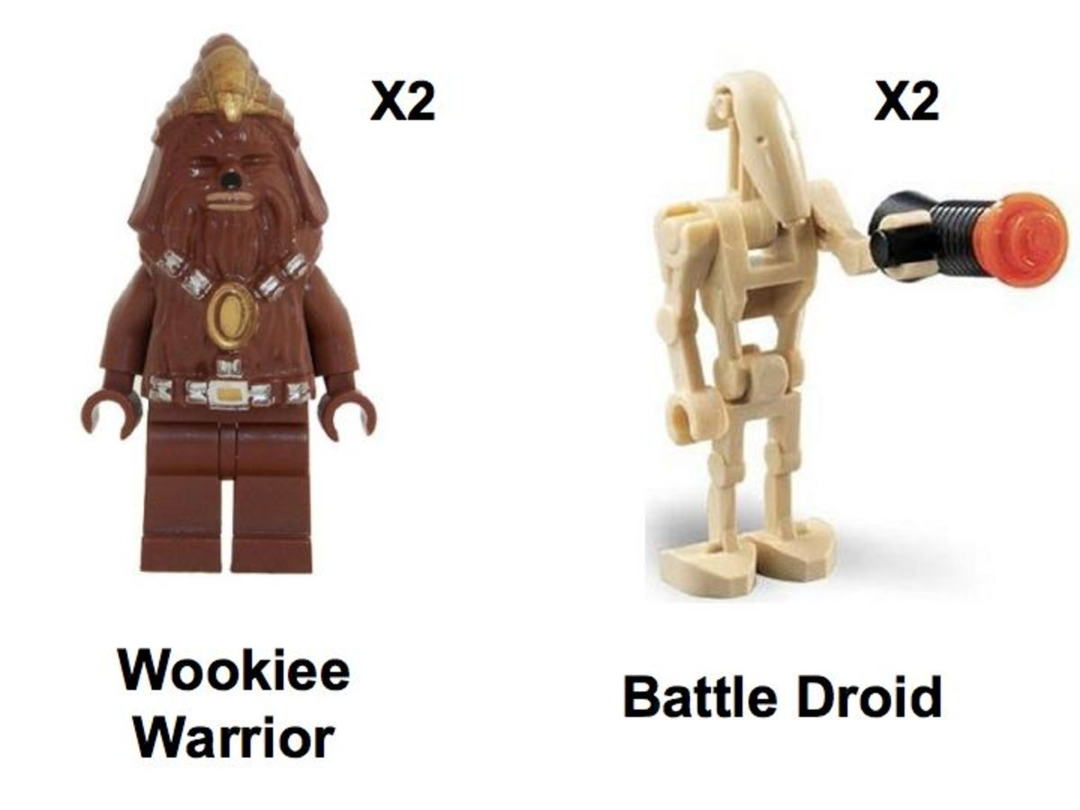 LEGO Star Wars Wookiee Attack 7258 Minifigures