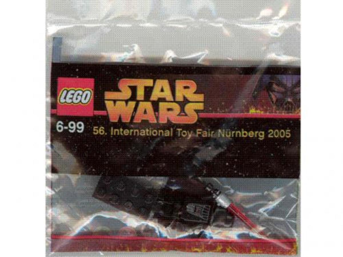 LEGO Star Wars Darth Vader Toy Fair 2005 Promo