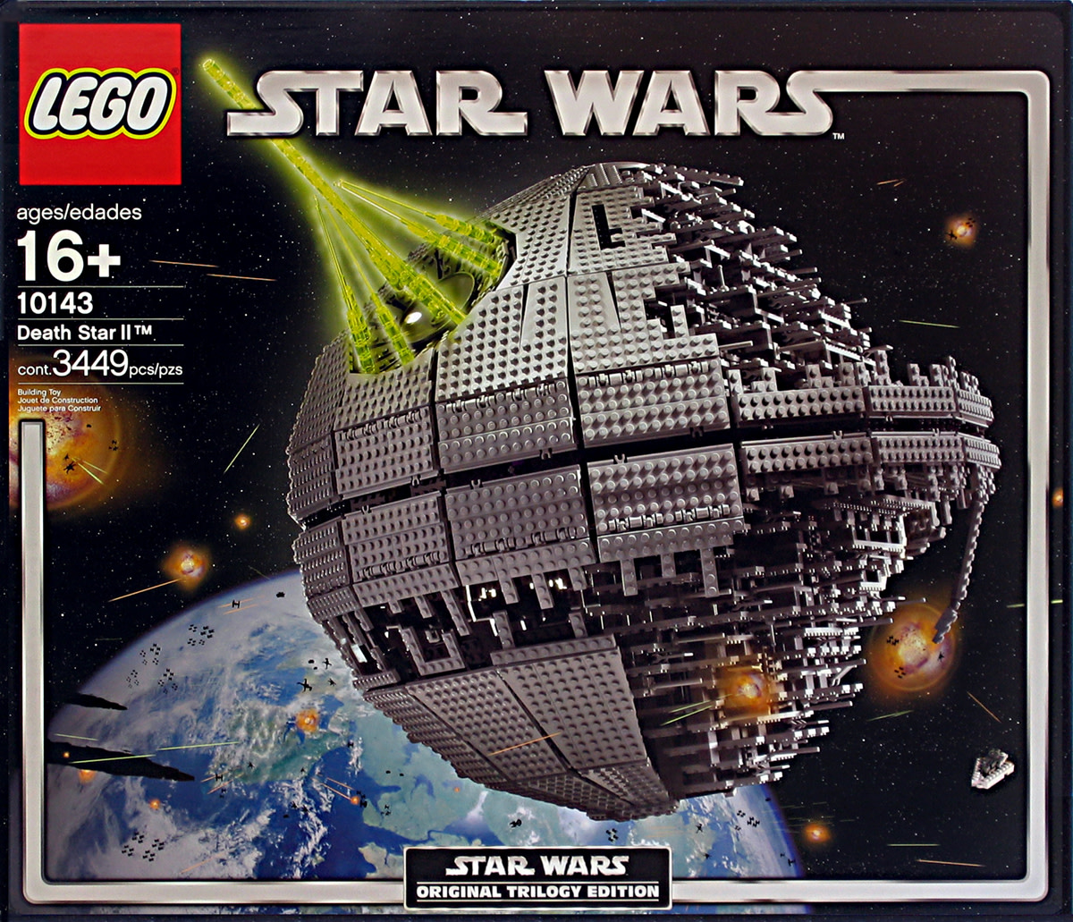 LEGO Star Wars Death Star II 10143 Box