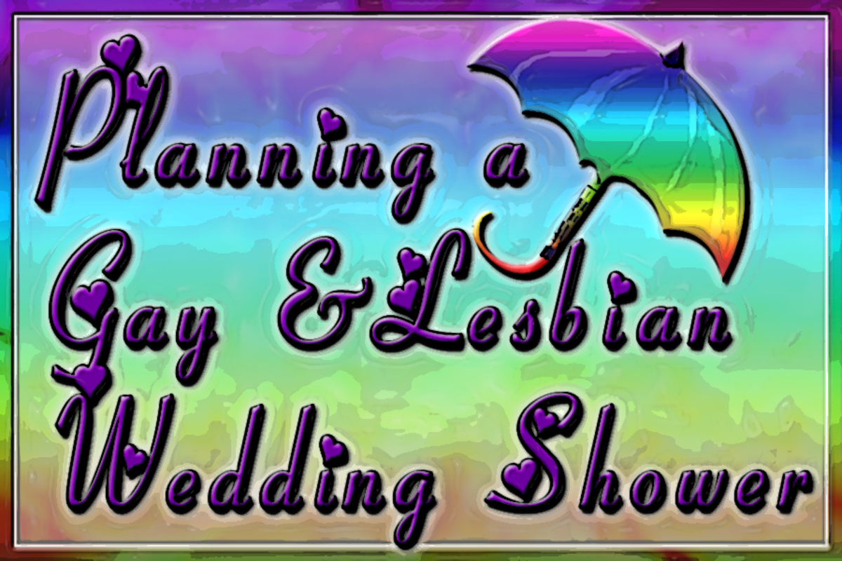 Gay and Lesbian Wedding Shower Planning