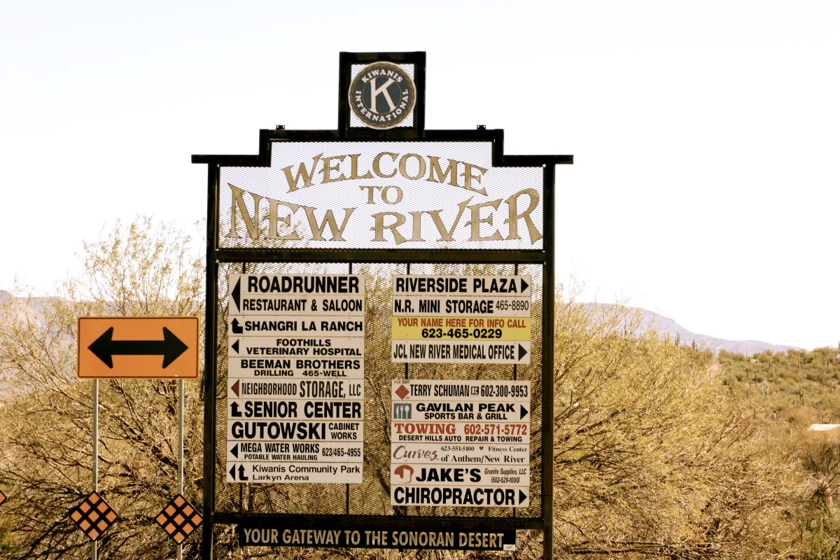 What is New River, Arizona?