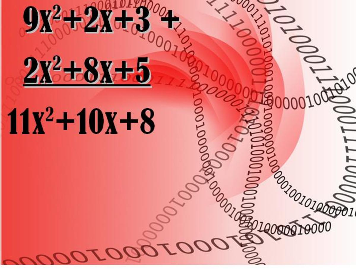 C Program Code for Addition of Two Polynomials using Arrays