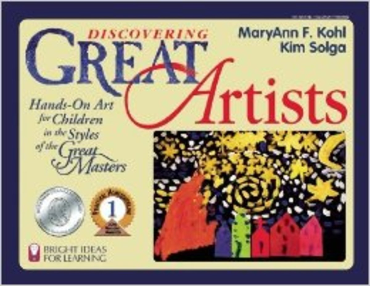 Discovering Great Artists: Hands-On Art for Children in the Styles of the Great Masters by MaryAnn F. Kohl