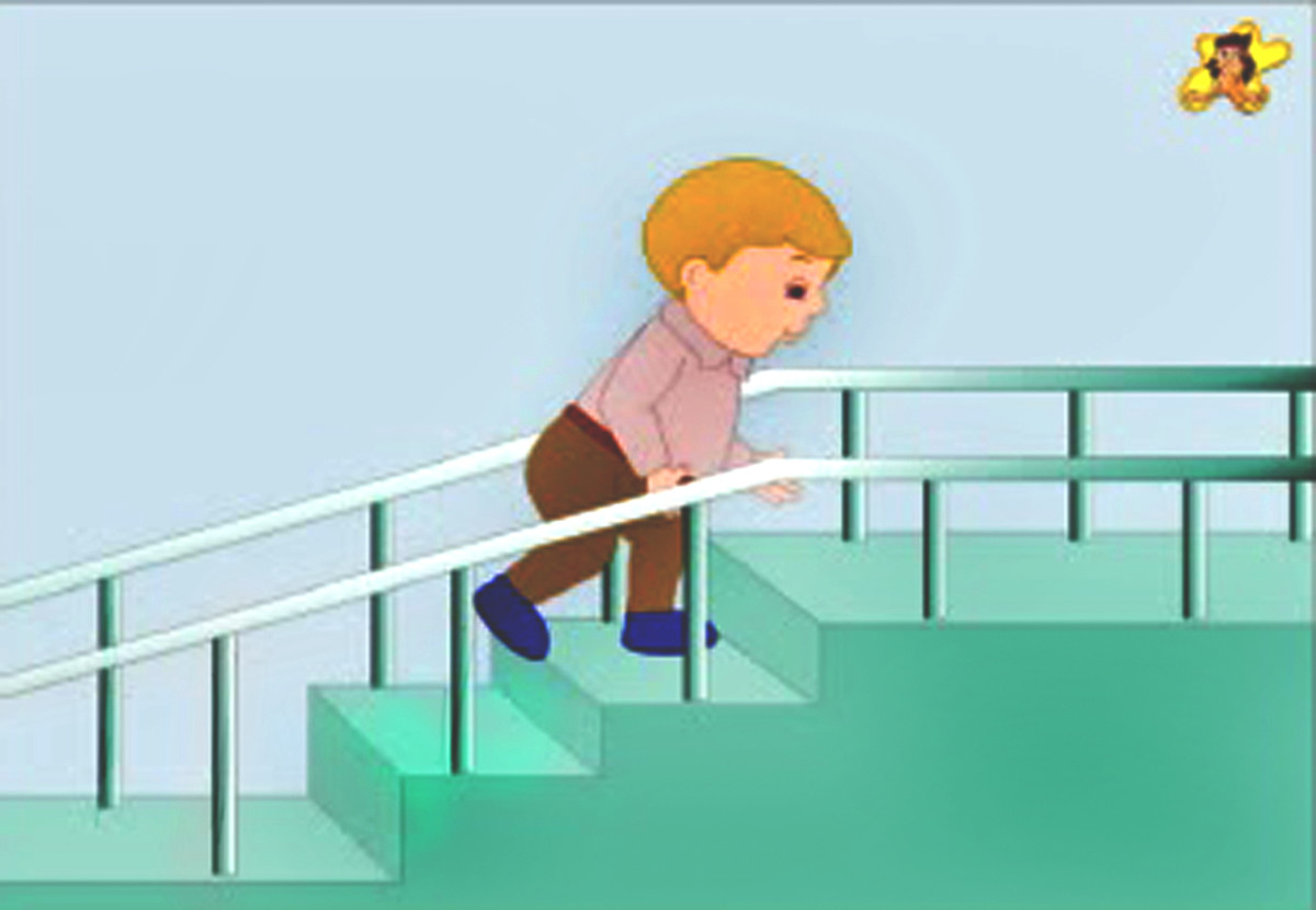 Action words for kids - climb