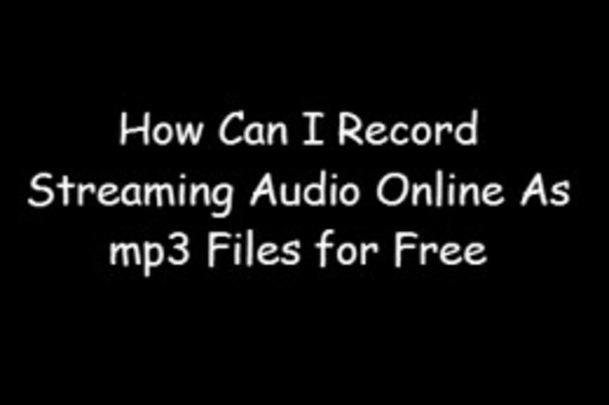 How to Record Streaming Music or Song Playing on Computer for Free - Audacity