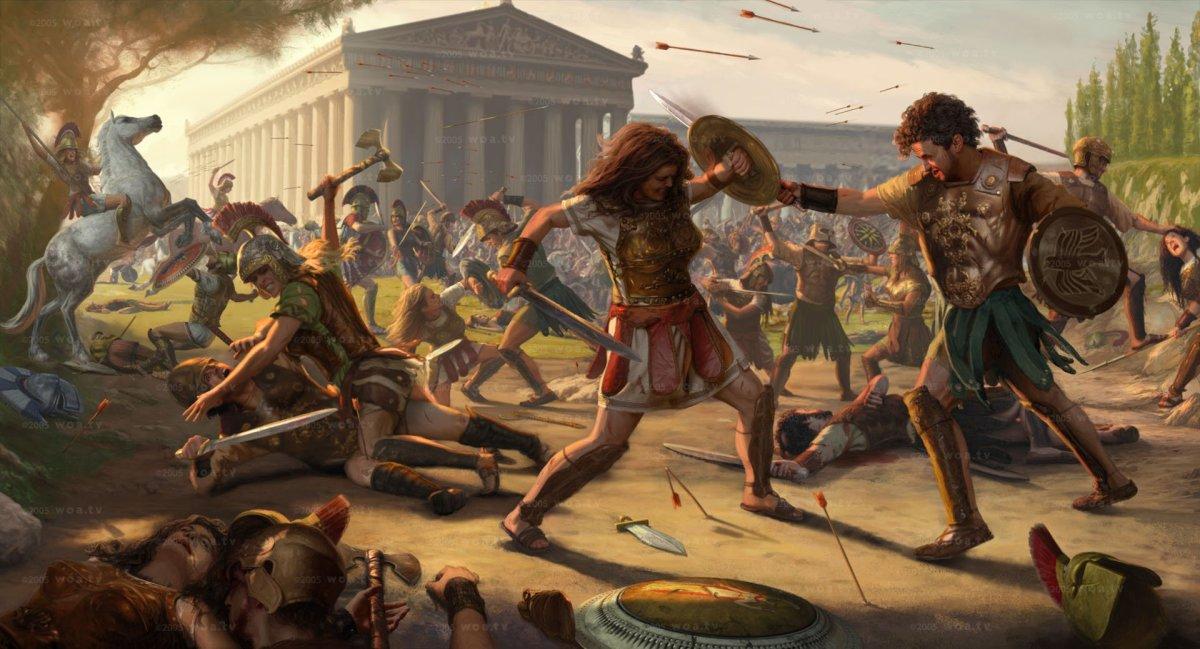 Warrior women - Amazons - Greek Mythology