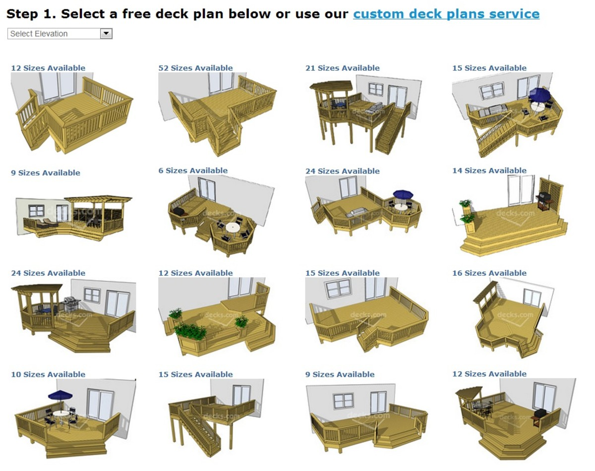 How to build a deck guide part 2 for Deck plans and material list