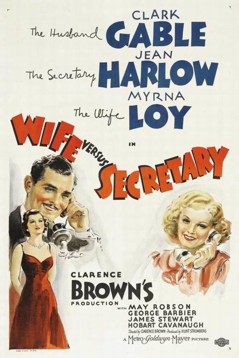 Wife vs Secretary 1936
