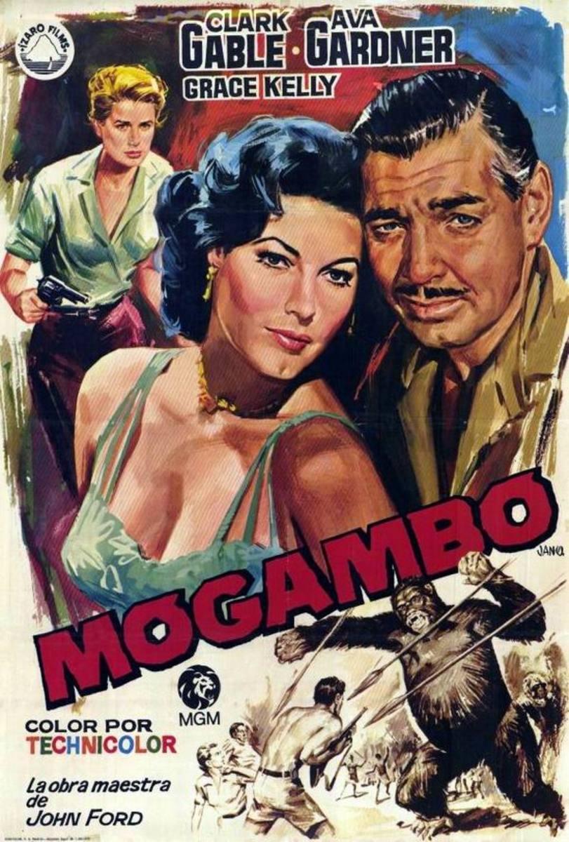 Mogambo 1953 Spanish poster