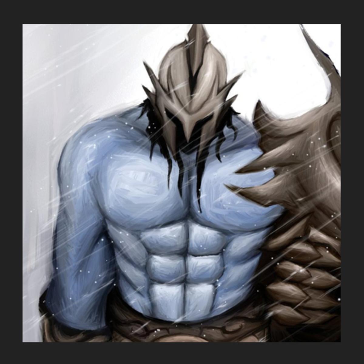 Sven the Rogue Knight fan art