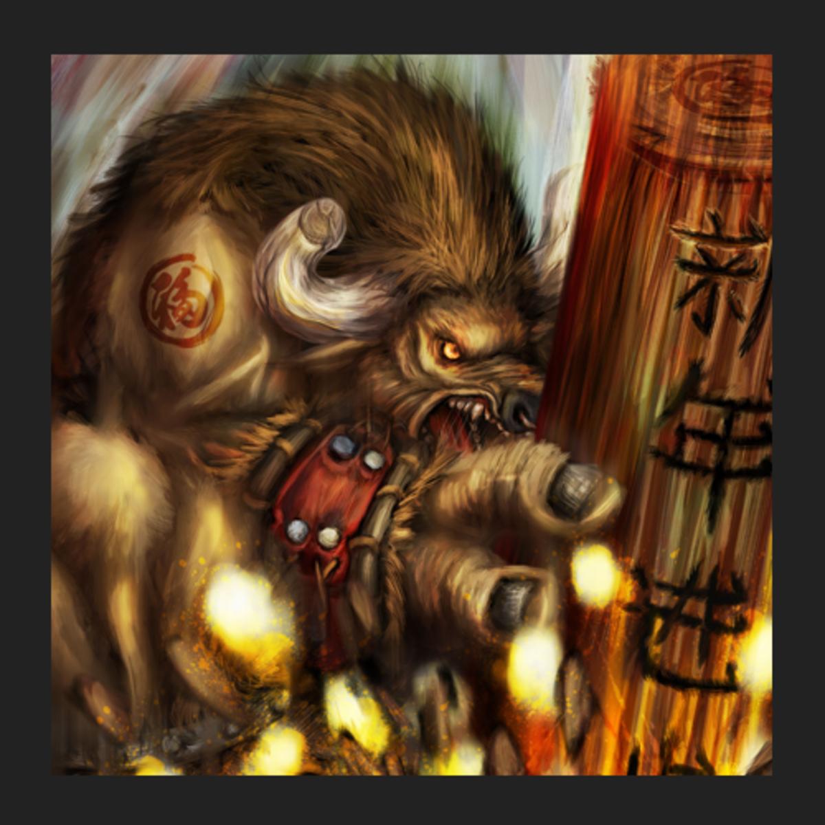 Raigor the Earthshaker fan art