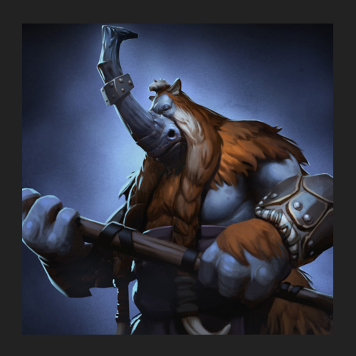 Magnus the Magnataur DOTA 2 adaptation