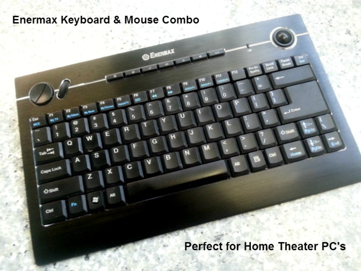 High quality Enermax wireless keyboard & Mouse