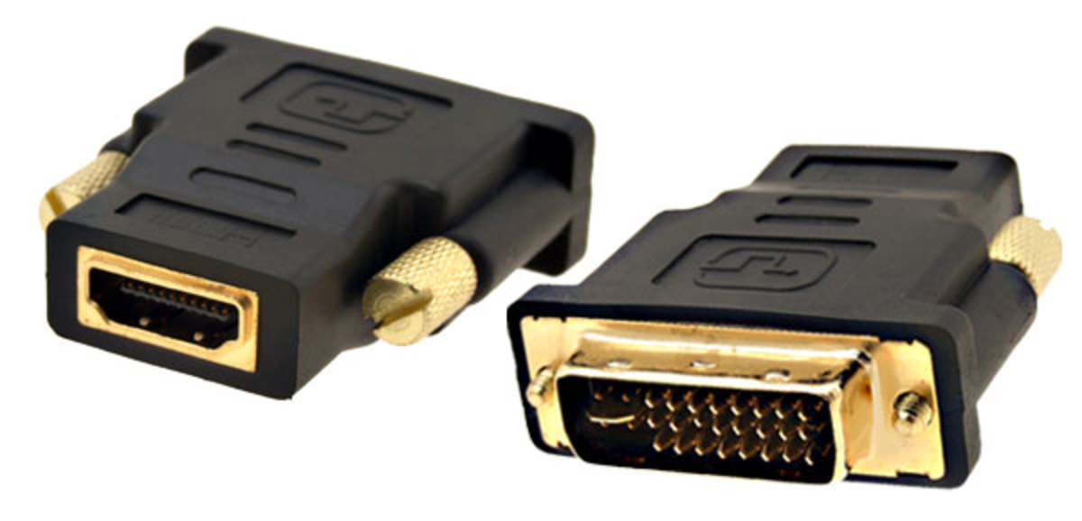 DVI-I to HDMI Converter Adapter