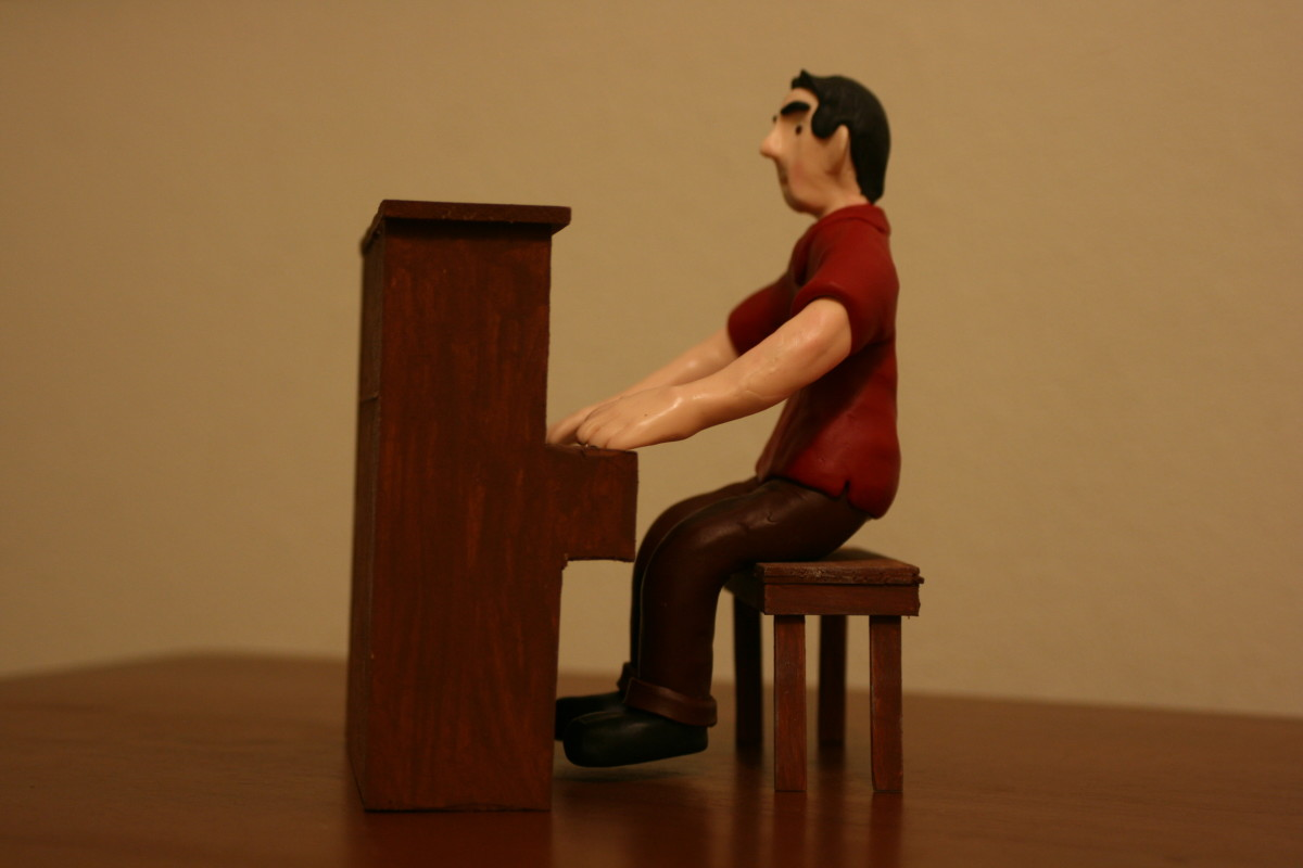 This figure is now ready to star in his own stop-motion film.
