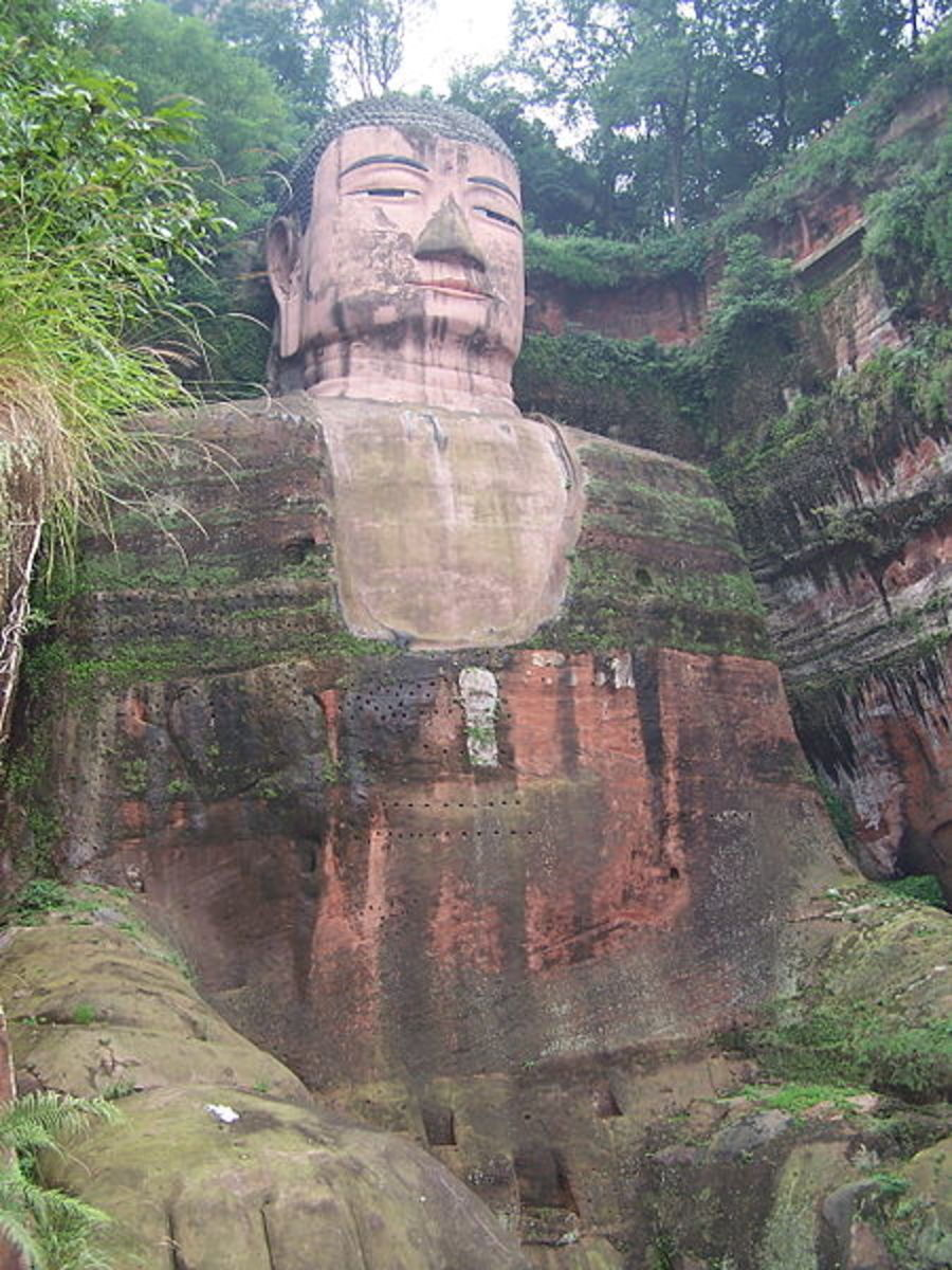 World's largest stone Buddha