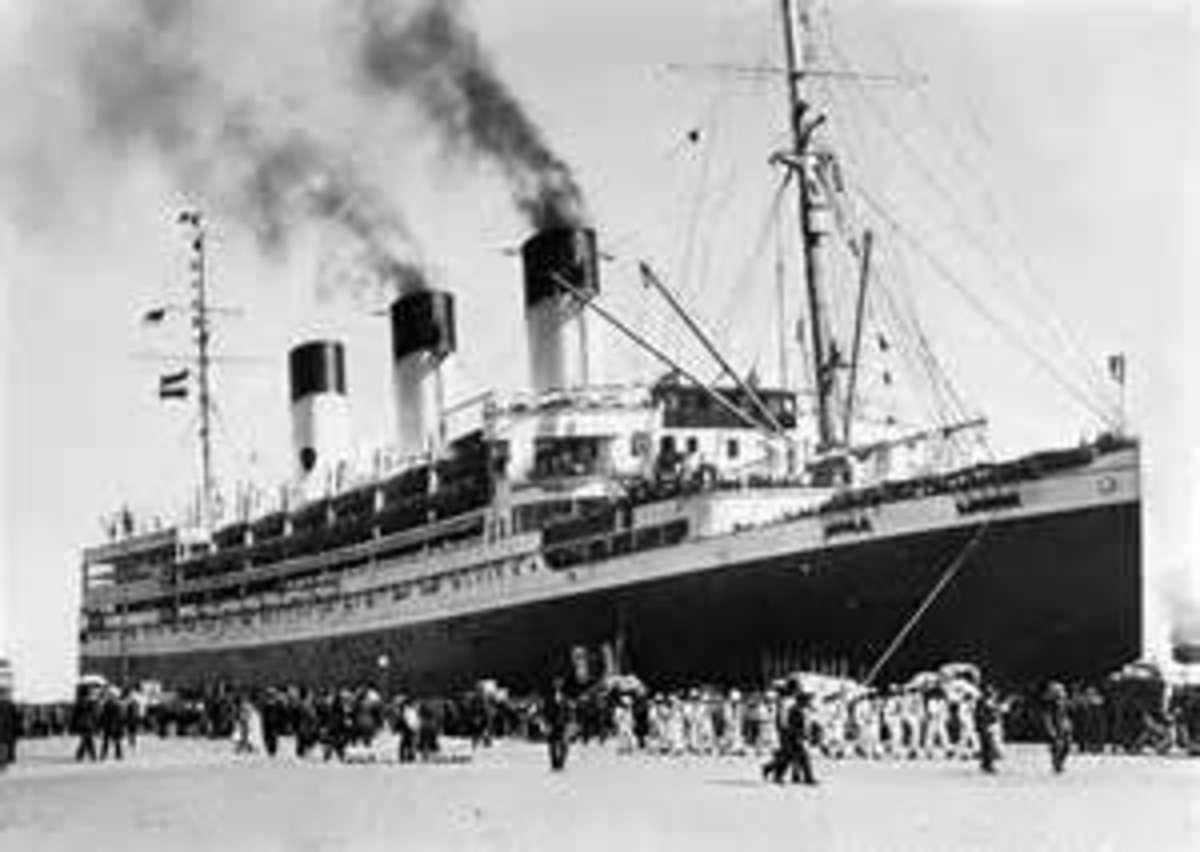 East German refugee ship SS Cap Arcona
