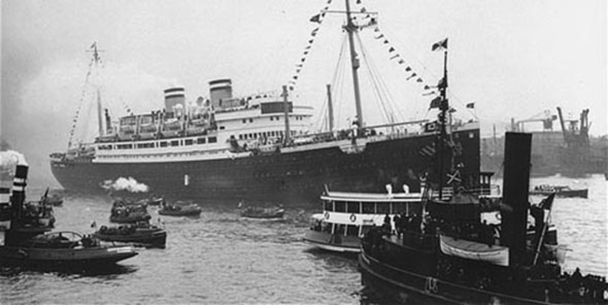 Jewish refugee ship St Louis