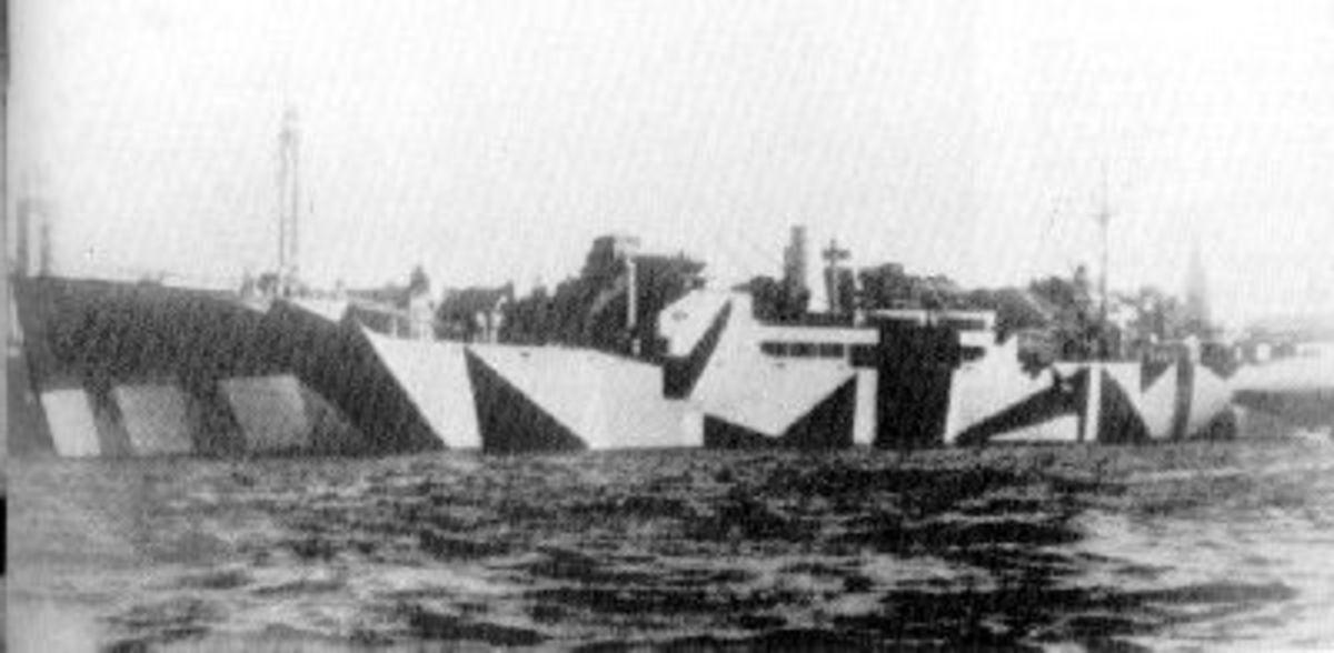 SS Goya transport for east German refugees