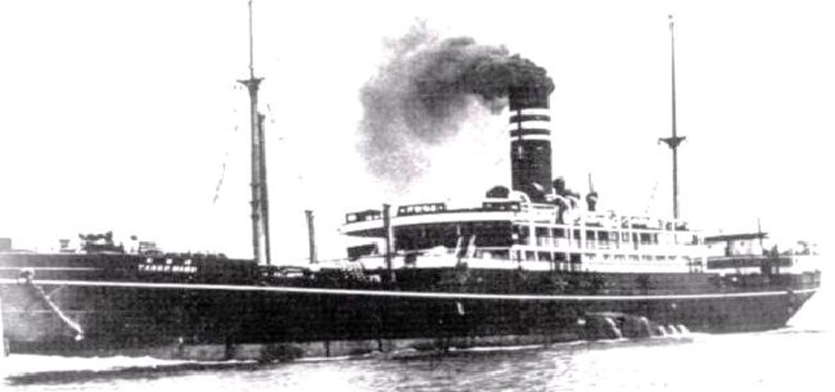 Japanese Hell Ship SS Tango Maru