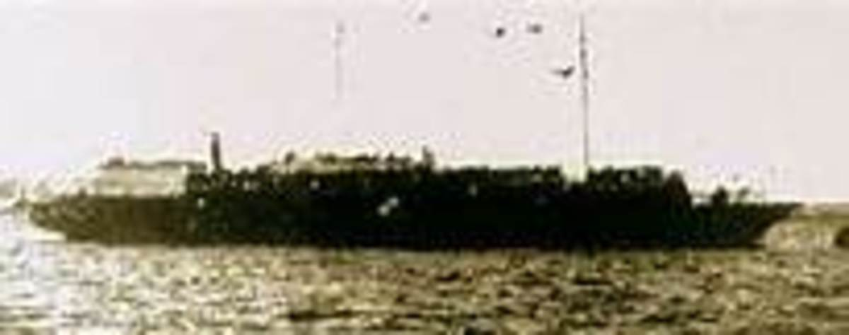 Only known photo of Jewish refugee ship Struma