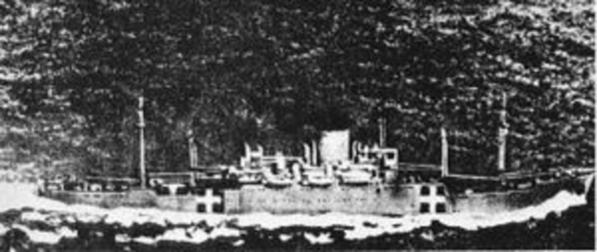 SS Awa Maru Red Cross parcels transport ship showing correct Red Cross markings