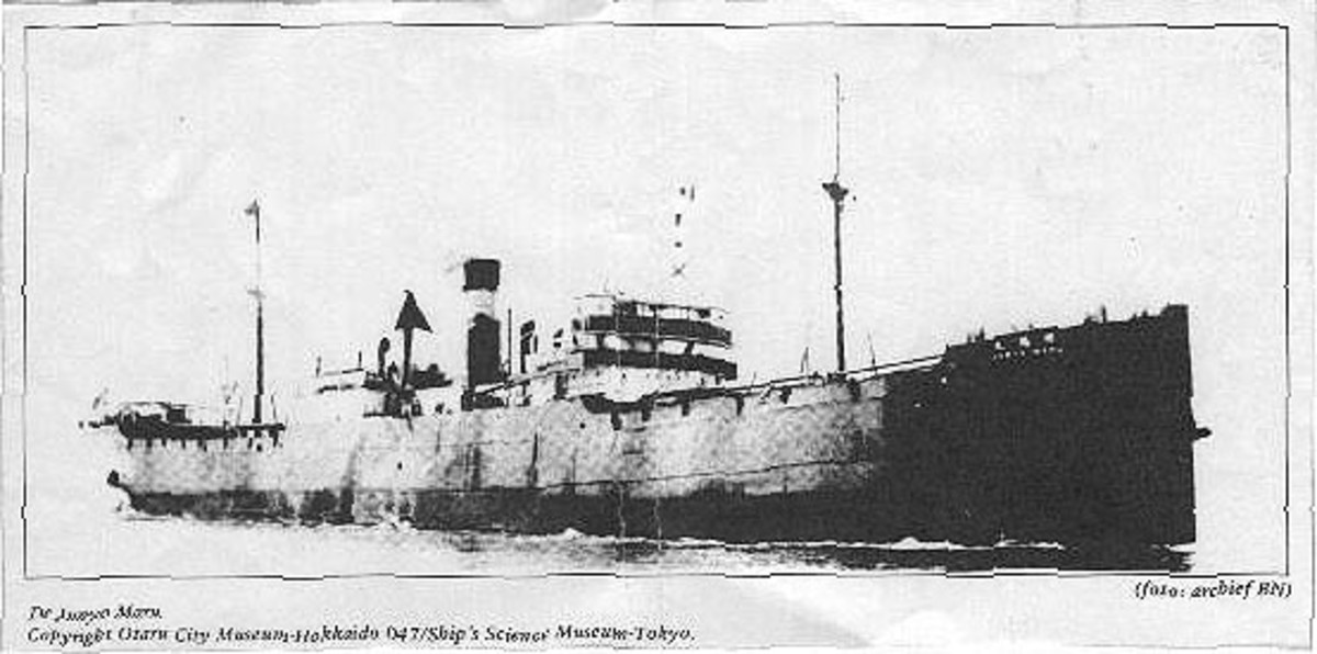 SS Junyo Maru the archetypal Hell Ship