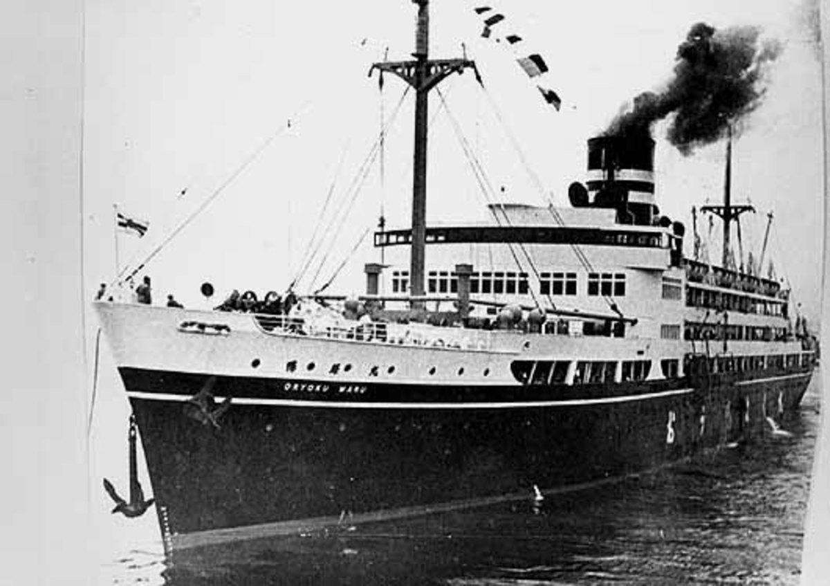 SS Oryoku Maru one of the worst Hell Ships