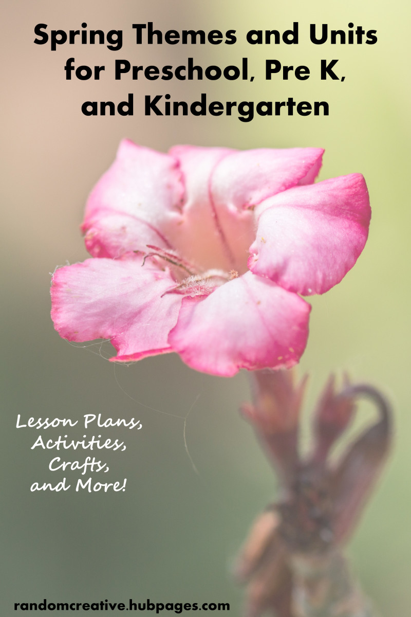 Spring Themes and Units for Preschool, Pre K, and Kindergarten: Lesson Plans, Activities, and Crafts