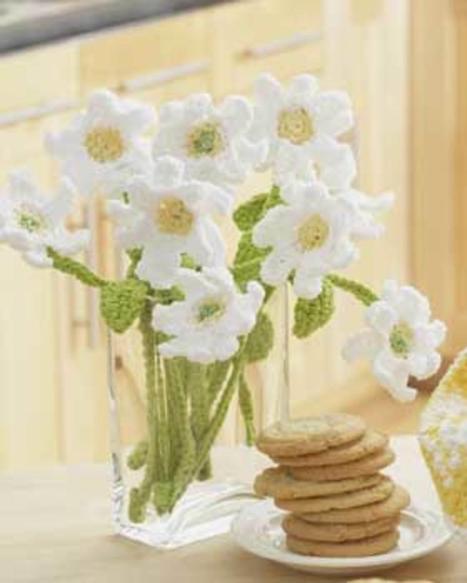 Flower Crocheting Tutorial