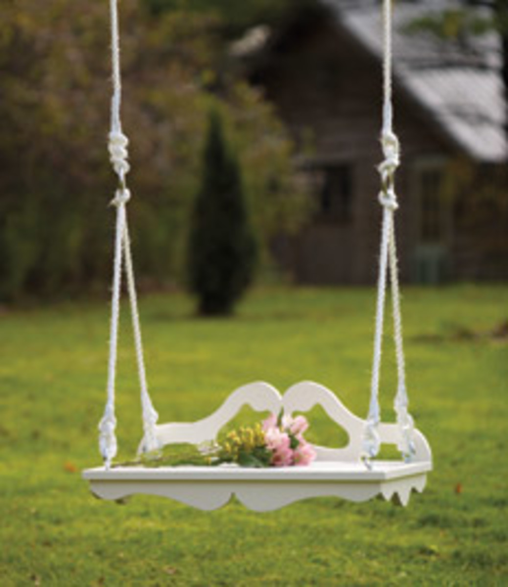 Home design ideas victorian swings perfect for the porch and beyond - Wooden garden swing seat plans perfect tranquility ...