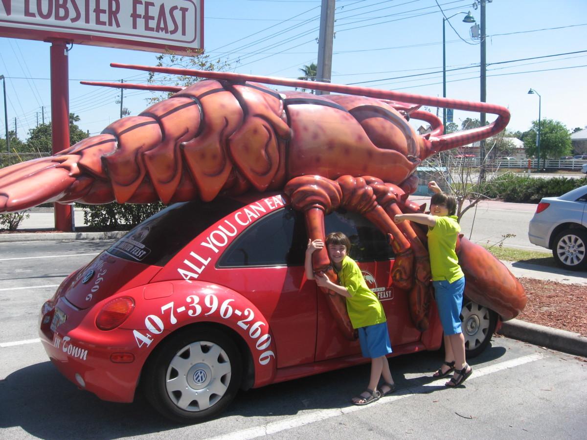 Lobster mobile