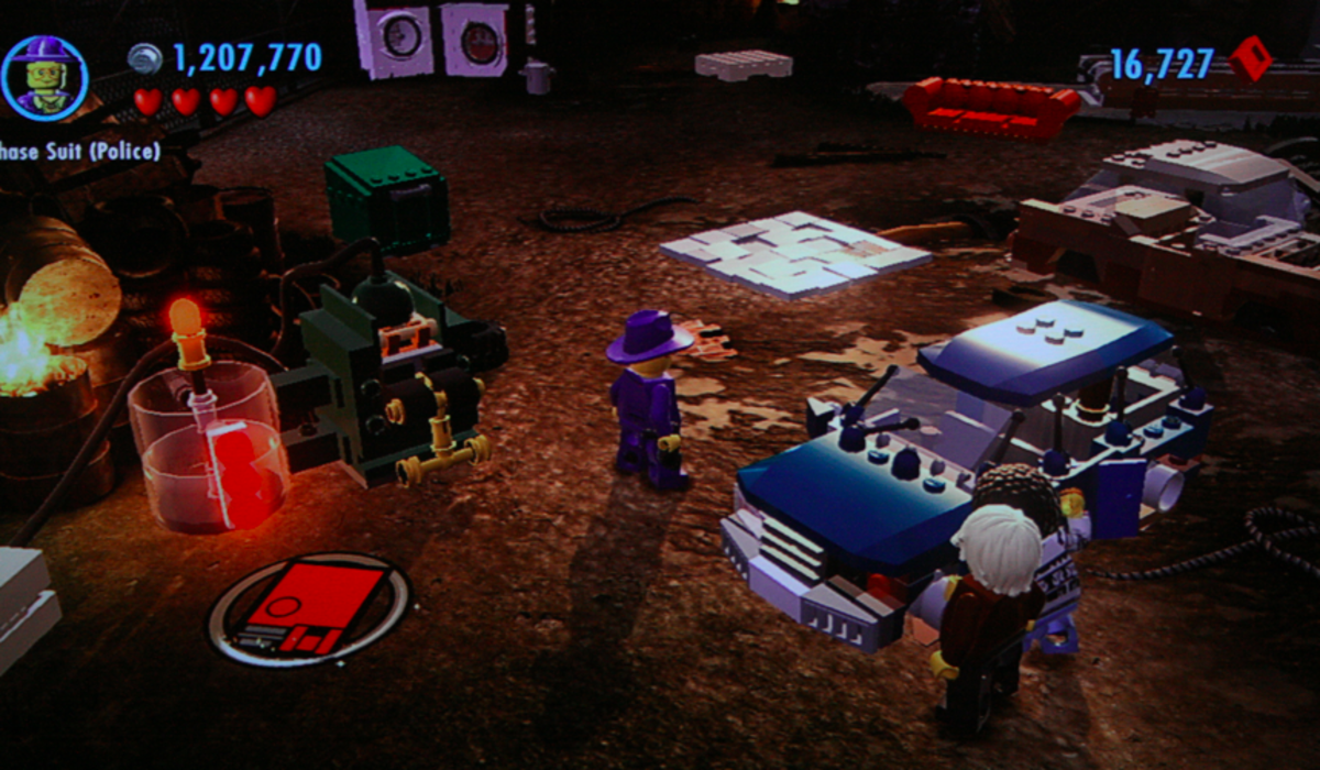 LEGO City Undercover walkthrough, Part Sixteen: Scrapyard Scrap