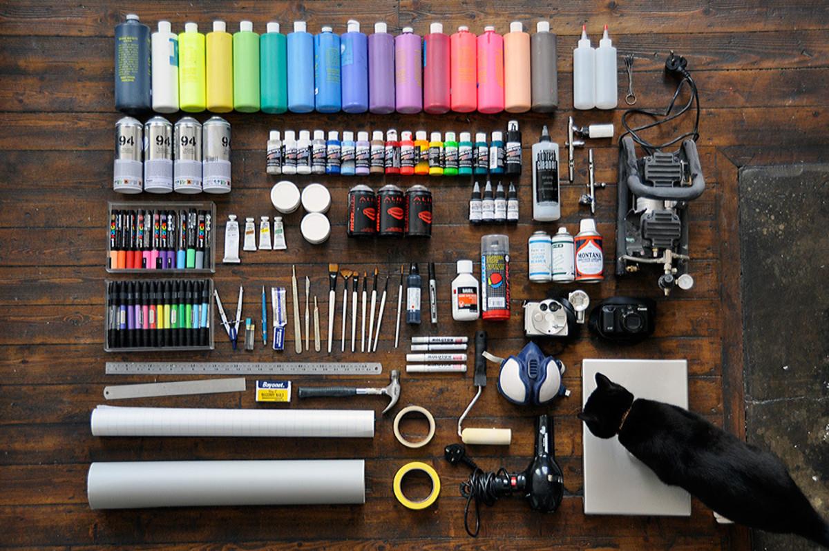 Graffiti Artist Roid Graffiti Essentials