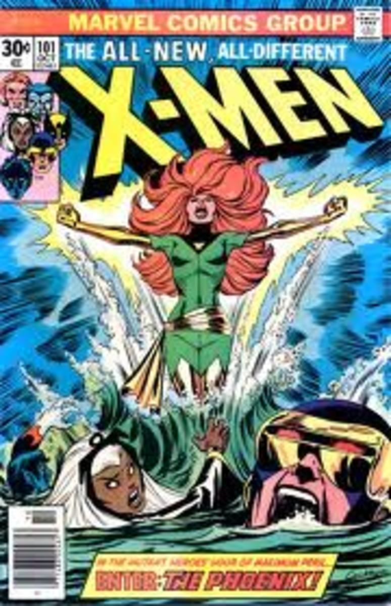 Jean Grey suddenly feels the force.