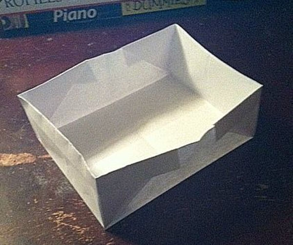 Origami For Beginners The Rectangular Box Hubpages