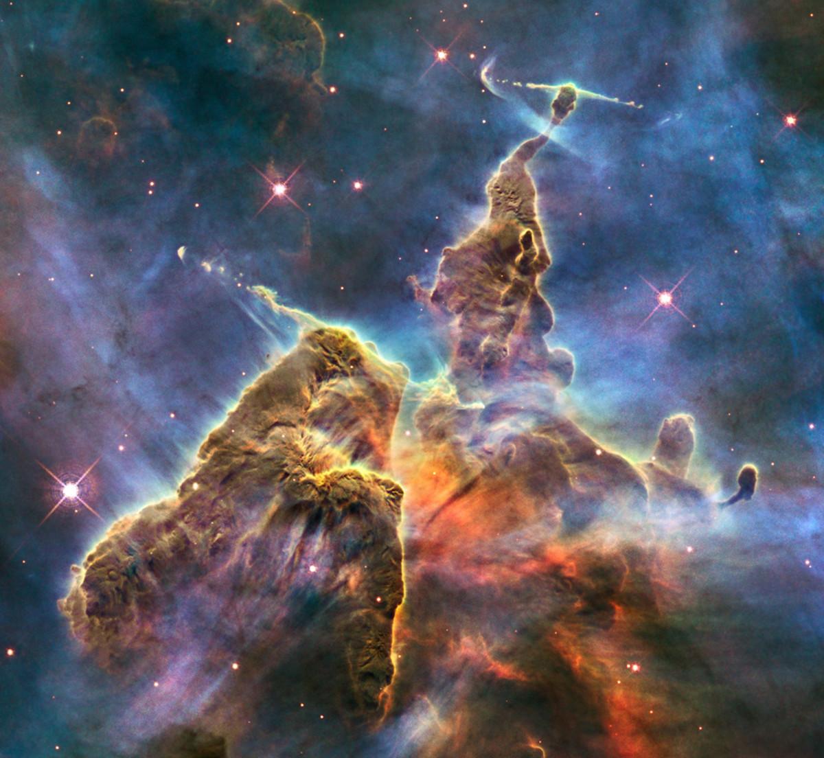 Carina Nebula, Mystic Mountain, NGC 3372