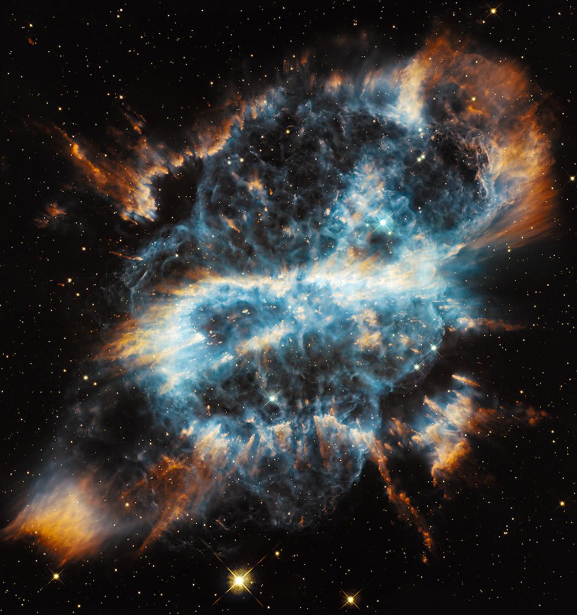 Spiral Planetary Nebula, NGC 5189