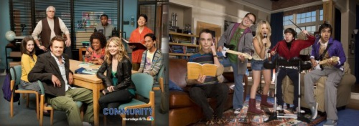 Big Bang Theory VS. Community: Transferring to Greendale